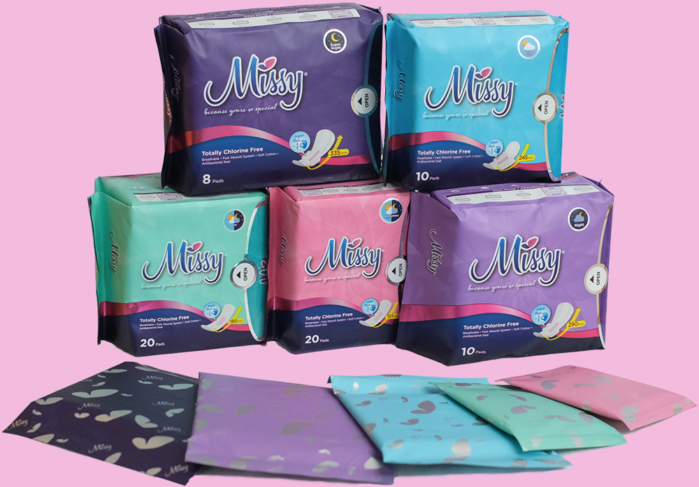Missy Products Display